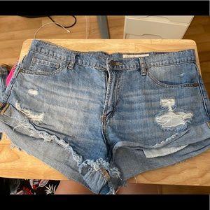 Pistola jean shorts